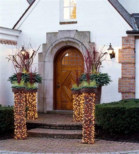 Herbstschmuck Selber Basteln by Festive Garden Lighting For Interior Design