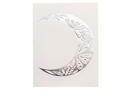 crescent moon metallic jewelry tattoo glimmer body art