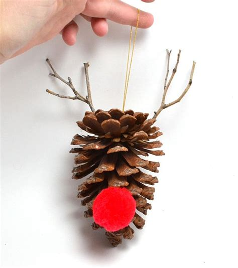 pinecone crafts images  pinterest christmas