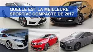 Meilleure Voiture Compacte : les meilleures voitures sportives compactes 2017 auto2day ~ Maxctalentgroup.com Avis de Voitures