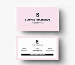 Front and back business card template word professional for Front and back business card template word