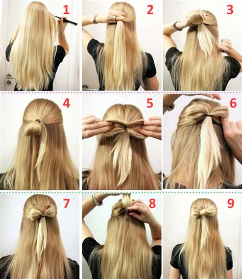 quick  easy hairstyles step  step  learnify