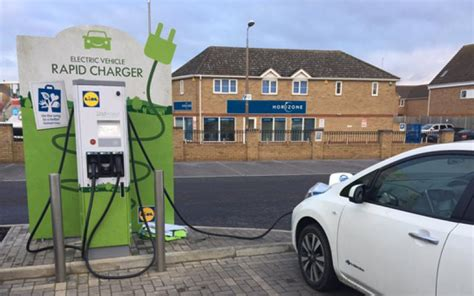 Charging Points And Electric Vehicles Uk 2017