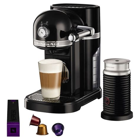 Nespresso Artisan Coffee Machine With Aeroccino By