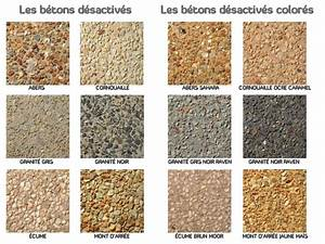 Béton Désactivé Gris : b ton d sactiv ou b ton lav d coratif ~ Melissatoandfro.com Idées de Décoration
