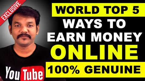 World Top 5 Ways To Earn Money Online Without Investment
