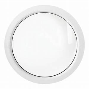 Fenetre ronde fixe 60 cm blanche pvc oeil de boeuf achat for Tapis chambre enfant avec fenetre ronde aluminium