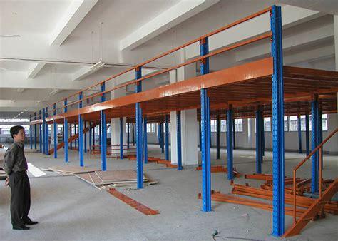 Industrial Mezzanine Floors With Plywood , Warehouse