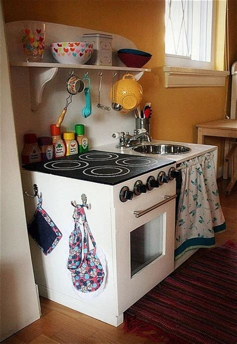 diy play kitchen sets home  design
