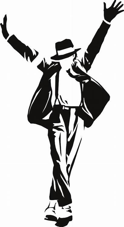 Jackson Michael Transparent Silhouette Poster Purepng Thriller