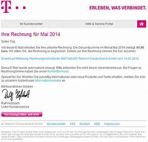 Telekom Deutschland Rechnung : phishing mail alerts telekom rechnungonline monat mai ~ Themetempest.com Abrechnung