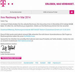 Telekom Rechnung Online Anschauen : phishing mail alerts telekom rechnungonline monat mai 2014 buchungskonto 2761377429 ~ Themetempest.com Abrechnung