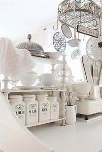 Tremendeous French Country Kitchen Canisters Interior