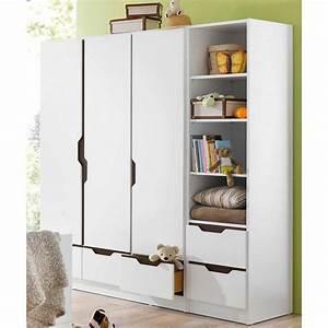 Kleiderschrank 3 Türig Weiß : geuther kleiderschrank fresh 3 t rig weiss braun otto ~ Bigdaddyawards.com Haus und Dekorationen