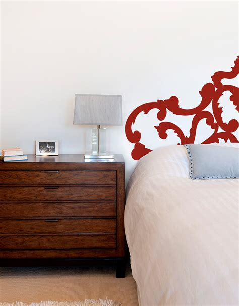 Sophie Headboard Wall Decal Vinyl Headboard Wall Decal