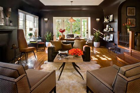 Home Layout With Creative Accent Colours by 10 Stunning Living Rooms To Inspire You