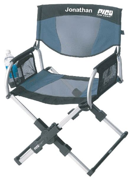 imprinted personalized pico compact telescoping arm chair
