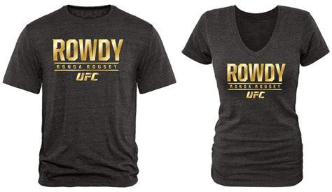 Ronda Rousey Ufc Gold Tri-blend T-shirts