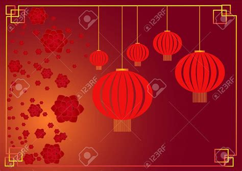 chinese  year lantern template festival collections