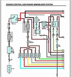 Lexus Es300 2001 Engine Control And Engine Immobiliser