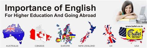 importance  english  higher education