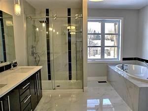 salle de bain a dominante de marbre maisons la prise With salle de bain design avec lavabo marbre salle bain