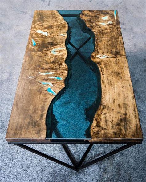 zywica epoksydowa bezbarwna jak zrobic rzeczny stol