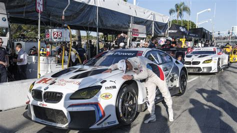 bmw team rll  bubba burger sports car grand prix