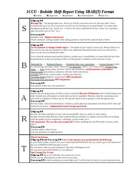issuu ccu bedside shift report template  ian saludares