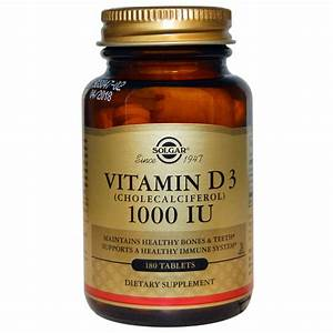 Vitamin D3 Berechnen : solgar vitamin d3 cholecalciferol 1000 iu 180 tablets ~ Themetempest.com Abrechnung