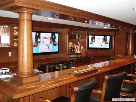 ideas  basement sports bar  pinterest