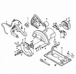 Skil Model 5480 Circular Saw Genuine Parts