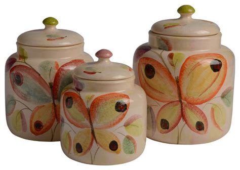 contemporary kitchen canister sets ninfa canister set contemporary kitchen canisters and