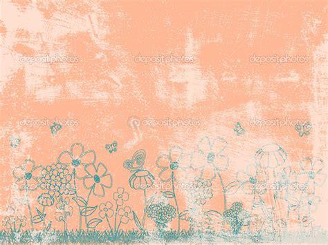 peach flowers wallpaper  wallpapersafari