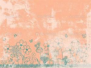Peach Flowers Wallpaper - WallpaperSafari