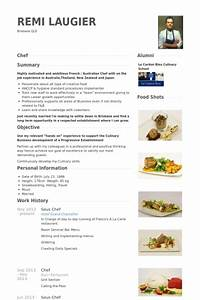 Sous chef resume samples visualcv resume samples database for Chef portfolio template