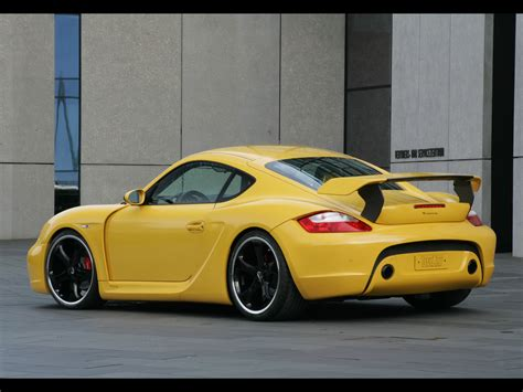 2007 Techart Widebody Based On Porsche Cayman S Rear And