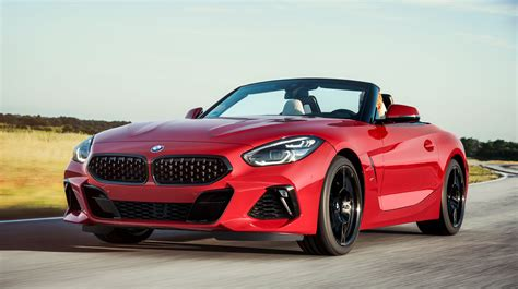 2019 Bmw Z4 Roadster Revealed Opentop Vehicle Debuts At