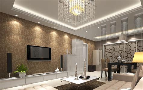 wallpaper borders  living room  design ideas