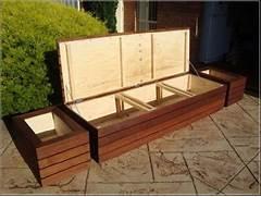 Garden Bench Seating by 25 Best Ideas About Deck Storage Bench On Pinterest Outdoor Storage Benche