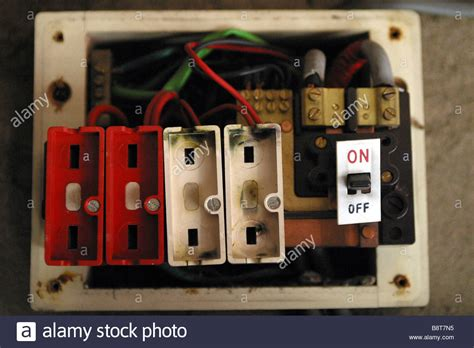 Grounding Cable Fuse Box by Earthing Safety Stock Photos Earthing Safety Stock