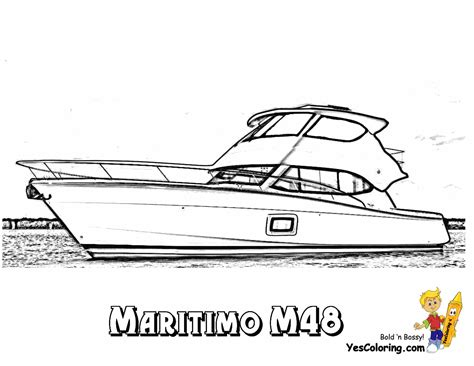 disegni da colorare yacht rugged boat coloring page free ship coloring pages