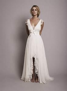 Robe Boheme Courte : robe mariee boheme chic ~ Melissatoandfro.com Idées de Décoration
