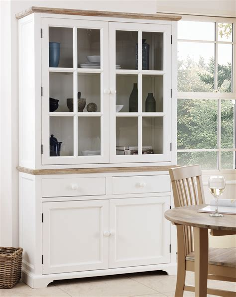 white kitchen cabinets with glass florence large dresser kitchen diningroom glass display 1811