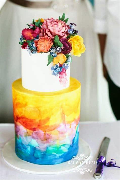 tropical wedding cake cake  raewyn read cake design