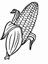 Corn Coloring Pages Printable Candy Getcolorings sketch template