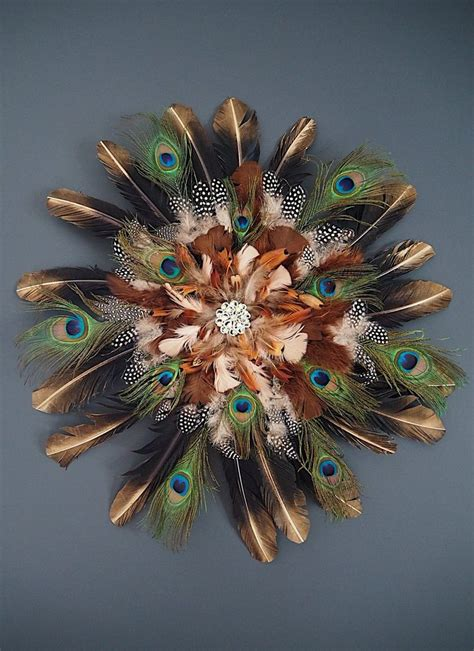 Get free shipping on qualified umbra wall decor or buy online pick up in store today in the home decor department. DIY feather wall hanging make from peacock feathers gold tipped feathers. Decorative juju hat ...