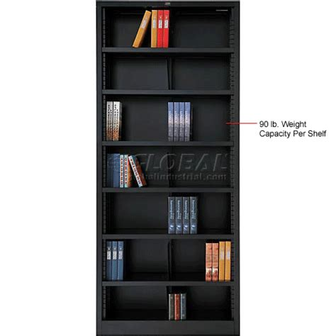 bookcase 36 x 84 bookcases displays bookcases all steel bookcase 36