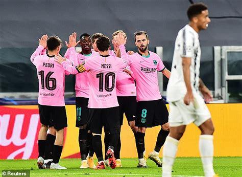 Juventus vs Barcelona - Champions League: live score ...