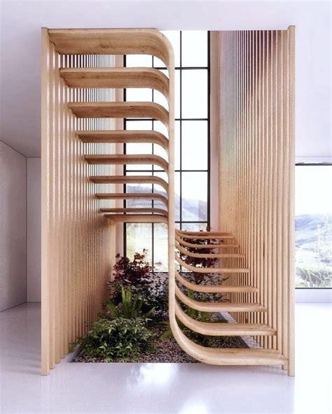 desain tangga unik  inspirasi rumah  depanmu